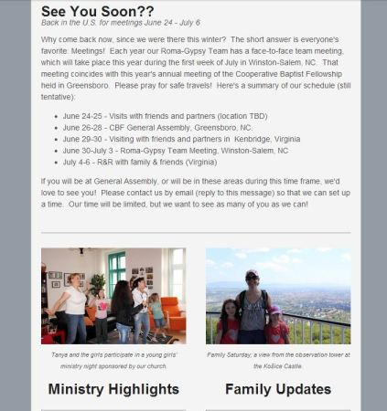 Click on the image above to access the June 2013 Newsletter.