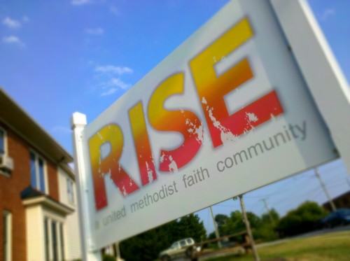 The RISE house and ministry center near the JMU campus in Harrisonburg.