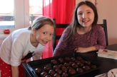 We celebrate both Slovak and American traditions at Christmas, but we have some family traditions, too - like chocolate-covered peanut butter balls!