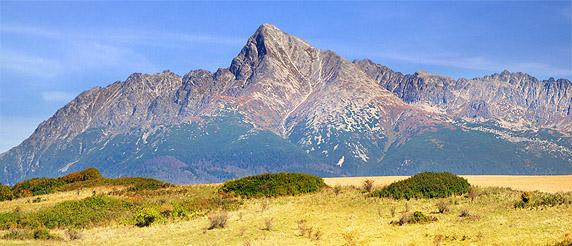 Kriváň, Slovakia's national peak.